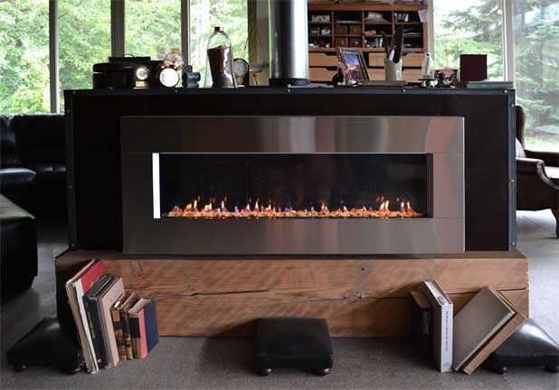 Solas Forty6 Wall Mount Gas Fireplace, Solas Gas Fireplace