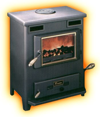 how to build a wood stove hearth
